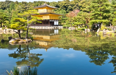 golden temple-kinkakuji in japan
