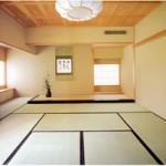 Japanese tatami floor