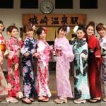 Yukata is a traditional Japanese garment for summer