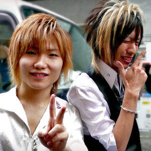 Funky Japanese Hair Style