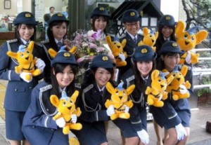 japanese-police-officers